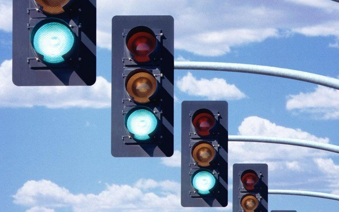 all-green-traffic-lights