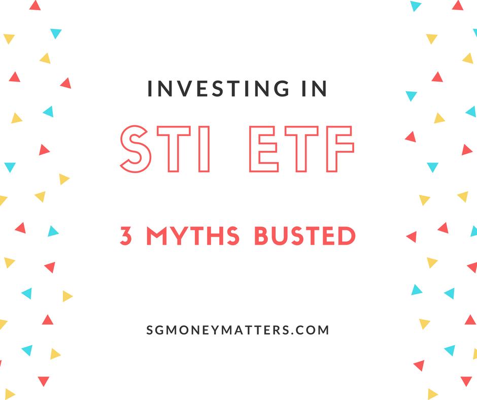 STI ETF Investing: 3 myths busted - SGMoneyMatters